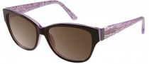 Candies COS Riley Sunglasses Sunglasses - PL-35: Plum 