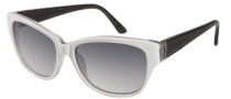 Candies COS Riley Sunglasses Sunglasses - WHT-35: White Clear 