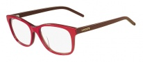 Lacoste L2615 Eyeglasses Eyeglasses - 615 Red Brown