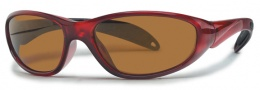 Liberty Sport Biker Sunglasses Sunglasses - Crystal Red w/ Ultimate Outdoor Lens #6
