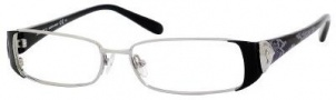Jimmy Choo 32 Eyeglasses Eyeglasses - Ruthenium / Black