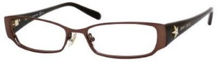 Jimmy Choo 33 Eyeglasses Eyeglasses - Dark Brown / Brown