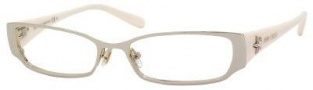 Jimmy Choo 33 Eyeglasses Eyeglasses - Light Gold / Ivory