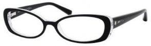 Jimmy Choo 37 Eyeglasses Eyeglasses - Black White