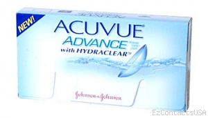 Acuvue Advance Contact Lenses - Acuvue