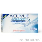 Acuvue Advance for Astigmatism Contact Lenses - Acuvue