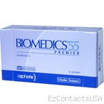 Biomedics 55 Premier Contact Lenses - Biomedics