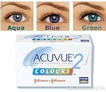 Acuvue 2 Colours Enhancers Contact Lenses - Acuvue