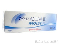 1-DAY ACUVUE® MOIST Contact Lenses - Acuvue