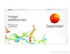 Proclear Multifocal Toric Contact Lenses - Proclear