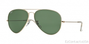 Ray-Ban RB3026 Sunglasses Aviator Large Metal II - Ray-Ban