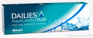 Dailies AquaComfort Plus Contact Lenses 30 Pack - Focus