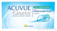 Acuvue Oasys for Presbyopia Contact Lenses - Acuvue