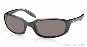 Costa Del Mar Brine Sunglasses Matte Black Frame - Costa Del Mar