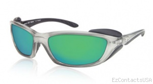 Costa Del Mar Man o War Sunglasses - Silver Frame - Costa Del Mar