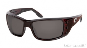 Costa Del Mar Permit Sunglasses Shiny Tortoise Frame - Costa Del Mar