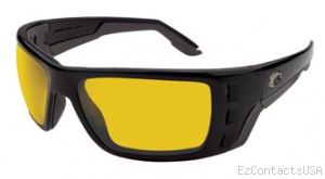 Costa Del Mar Permit Sunglasses Matte Black Frame - Costa Del Mar