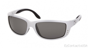Costa Del Mar Zane Sunglasses Silver Frame - Costa Del Mar