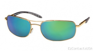 Costa Del Mar Seven Mile Sunglasses Gold Frame - Costa Del Mar