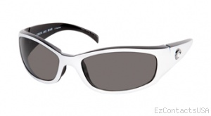 Costa Del Mar Hammerhead Sunglasses White-Black Frame - Costa Del Mar