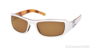 Costa Del Mar Santa Rosa Sunglasses White Tortoise Frame - Costa Del Mar