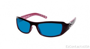 Costa Del Mar Santa Rosa Sunglasses Black Coral Frame - Costa Del Mar