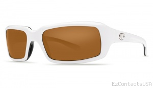 Costa Del Mar Switchfoot Sunglasses White-Black Frame - Costa Del Mar