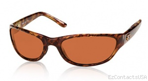 Costa Del Mar Triple Tail Sunglasses Shiny Tortoise Frame - Costa Del Mar
