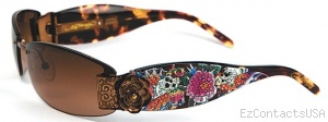 Ed Hardy EHS 020 Skull Butterflies - Ed Hardy
