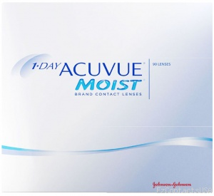 1-DAY ACUVUE® MOIST 90-Pack - Acuvue