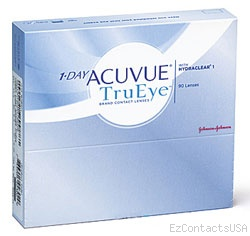 1-Day Acuvue TruEye Contact Lenses 90 Pack - Acuvue