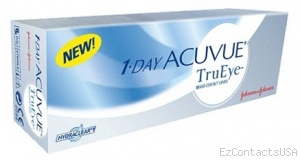 1-Day Acuvue TruEye Contact Lenses 30 Pack  - Acuvue