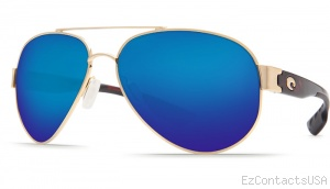 Costa Del Mar South Point Sunglasses - Gold Frame - Costa Del Mar