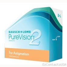 Purevision 2 HD for Astigmatism Contact Lenses - PureVision
