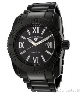 Swiss Legend BB Comander 3H Bracelet Watch 10059 - Swiss Legend