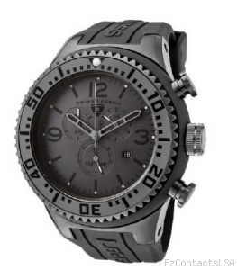 Swiss Legend Neptune Diver Gunmetal IP Watch 11812P - Swiss Legend