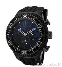 Swiss Legend Neptune Diver Black IP Watch 11812P - Swiss Legend