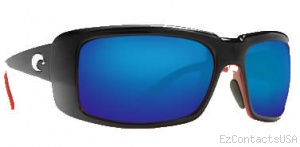 Costa Del Mar Cheeca Sunglasses Black Coral Frame - Costa Del Mar
