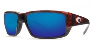 Costa Del Mar Fantail Sunglasses Black Frame