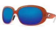 Costa Del Mar Hammock Sunglasses Salmon/White Frame