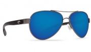 Costa Del Mar Loreto Sunglasses Gunmetal Frame