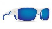 Costa Del Mar Cortez White Sunglasses