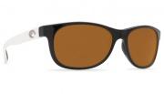 Costa Del Mar Prop Sunglasses - Black White Frame