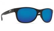 Costa Del Mar Prop Sunglasses - Matte Black Frame