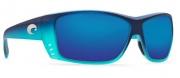 Costa Del Mar Cat Cay Sunglasses - Matte Caribbean Fade