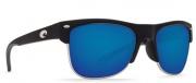 Costa Del Mar Pawleys Sunglasses - Matte Black Frame