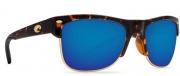 Costa Del Mar Pawleys Sunglasses - Retro Tortoise Frame