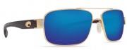 Costa Del Mar Tower Sunglasses -  Gold Frame