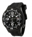 Swiss Legend Neptune Pilot Black IP Watch 21818