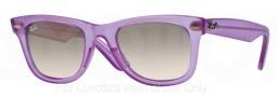 Ray Ban 2140 Sunglasses Original Wayfarer RB2140 Sunglasses - 605632 Demi Gloss Violet / Grey Gradient